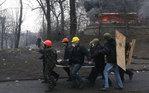 [+] Увеличить - Ситуация в Киеве. MAXIM SHIPENKOV/EPA