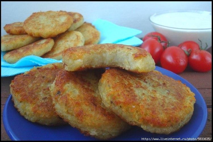 Картофельные оладьи в духовке рецепт с фото