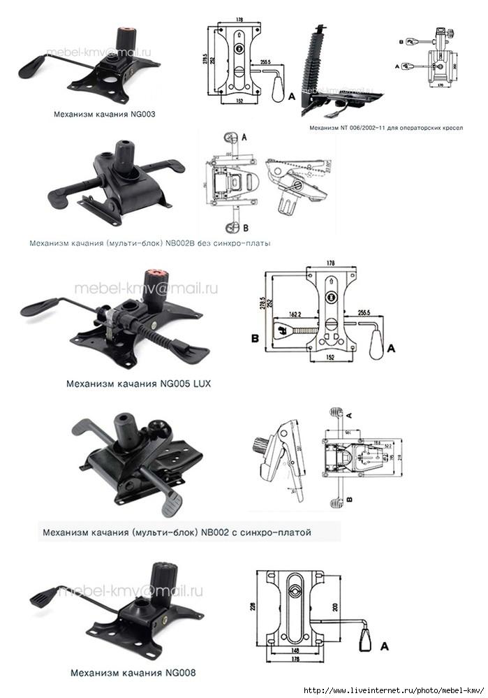 Механизм качания для кресла своими руками