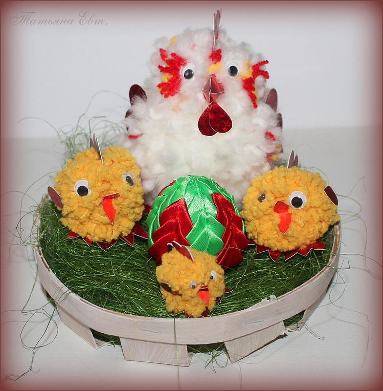 Цыпленок из пенопласта