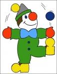 клоун (мозайка)