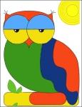 сова (мозайка)