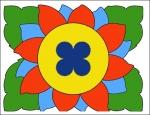 цветок (мозайка)