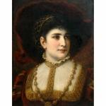 Anton Ebert Bust of a Woman