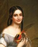 Charles Bird King (American painter, 1785�1862) Miss Satterlen