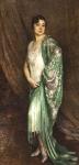 Constantin FONT (1890-1954) Portrait de Madame M. Beatch Huile
