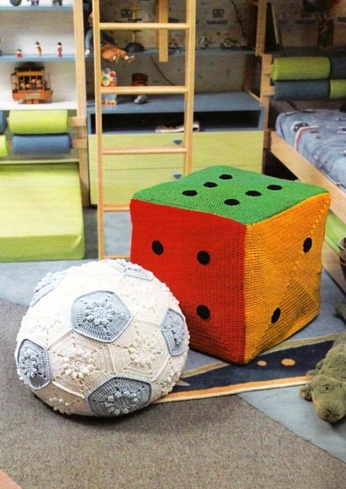 Такие шарики и мячики - отличная игрушка для детей, украшение интерьера или сувенир.  Прочитать целикомВ.