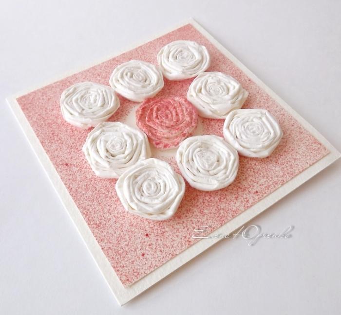 Как из туалетной бумаги сделать цветы