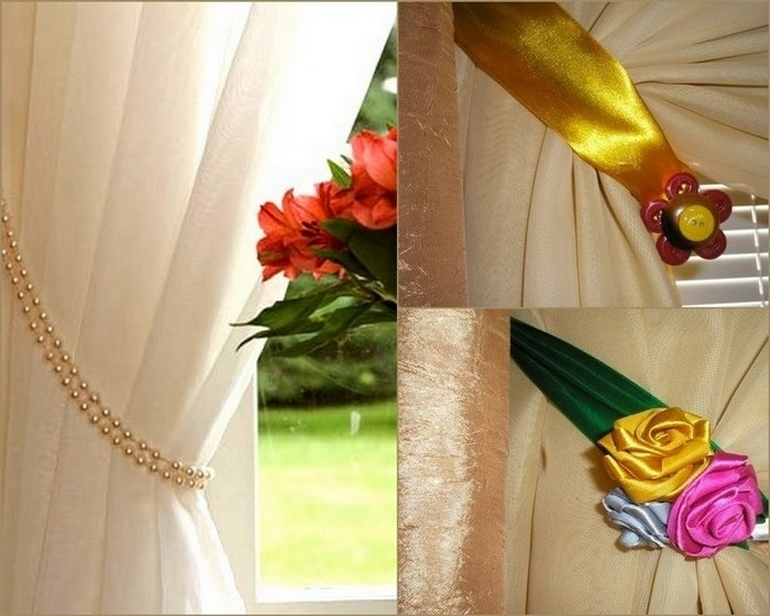 Декор для штор своими руками фото 868