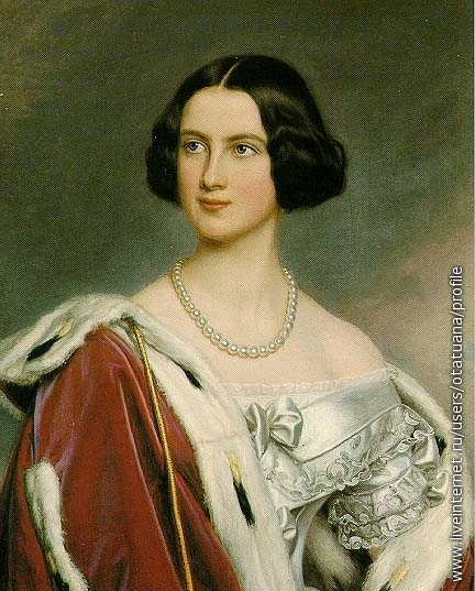 Marie Kronprinzessin von Bayern, 1843 (later Queen of Bavaria)мать Людвига II и Отто Королей Баварских