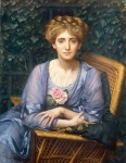 Portrait Of Lady Markham - Sir Edward John Poynter