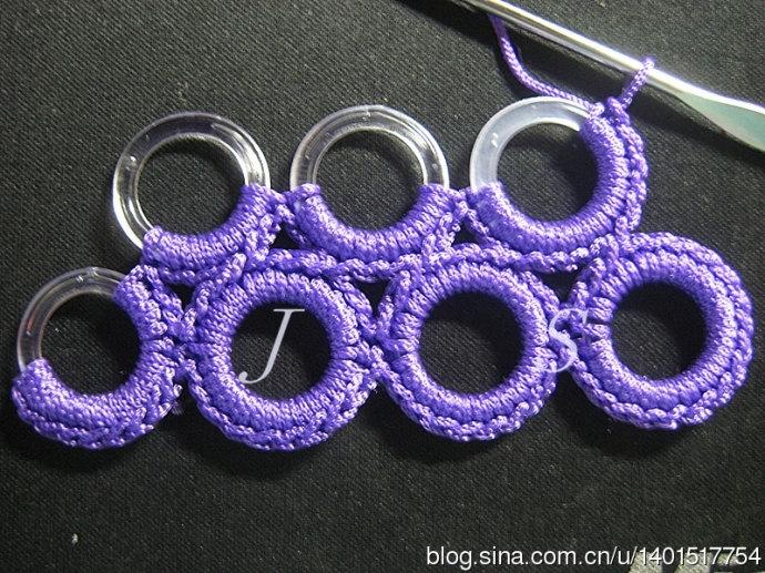 Кольца для обвязки крючком своими руками 21