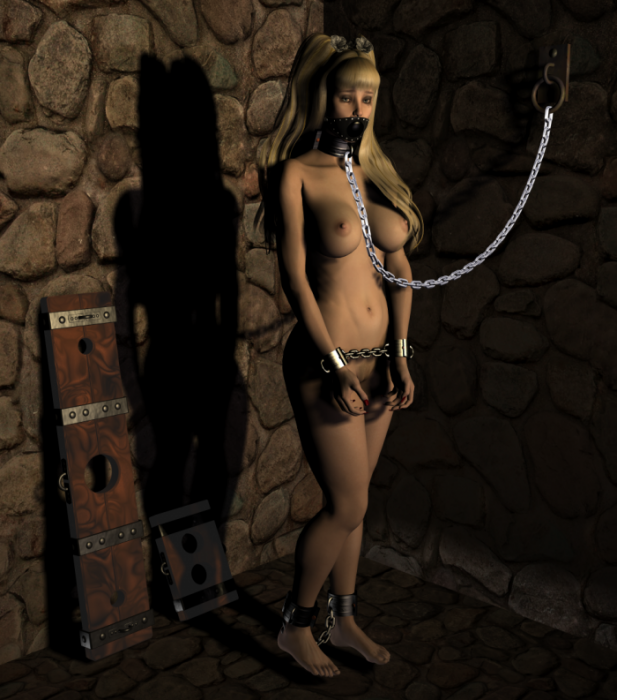 Порно закованная рабыня