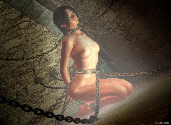 Закованы цепью голые девушки фото 656-440