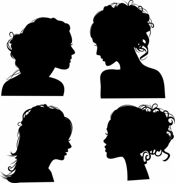 Силуэты причёсок бывают
