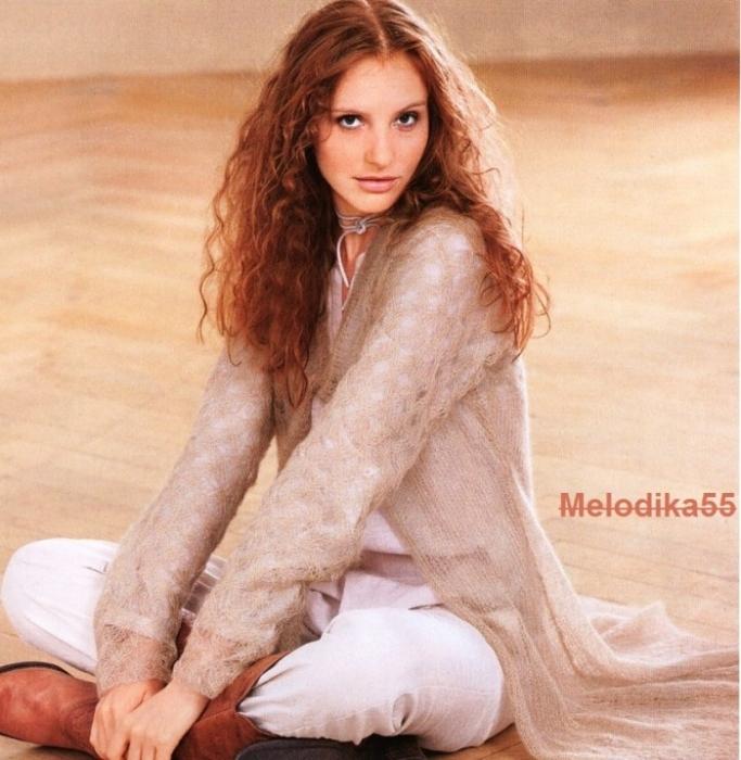 Вязание из мохера спицами для женщин оригинальные модели сабрина 73