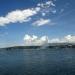 вид на Женевское озеро и фонтан