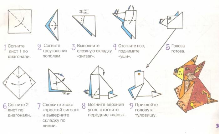 Как сделать фигуры из оригами