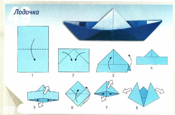 Оригами из бумаги для детей 5-6 лет с видео