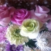 цветы вылеплены лепесток за лепестком из деко