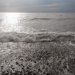 Вот такая волна нанесла камней со дна морского.