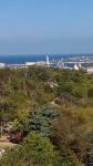 Вид на Севастополь с колеса обозрения.