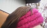 Повязка на голову ,вязание крючком