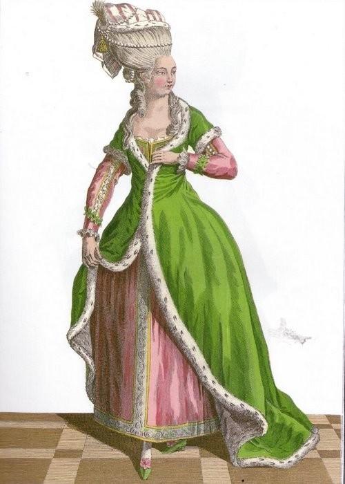 Женская Одежда 18 Века