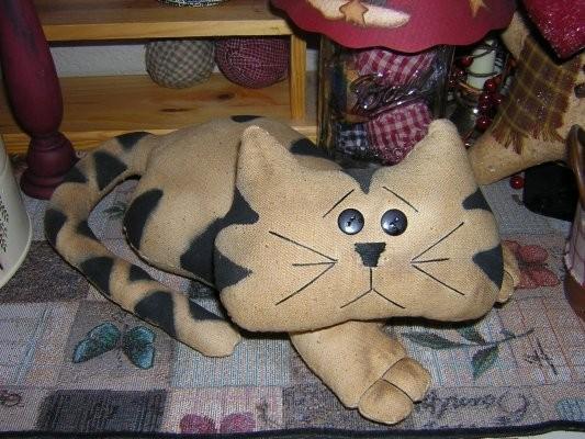 Сшить кошку просто (выкройки и схемы.