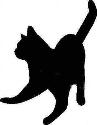 Силуэт кошки