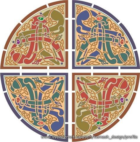 символ лондона схема для вышивки