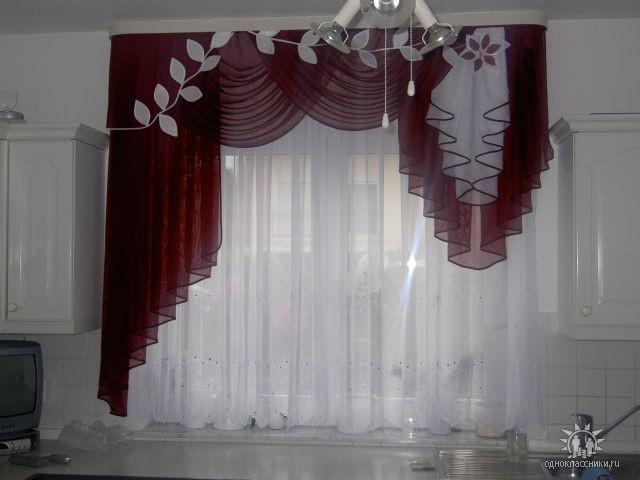Пошив штор в зал фото