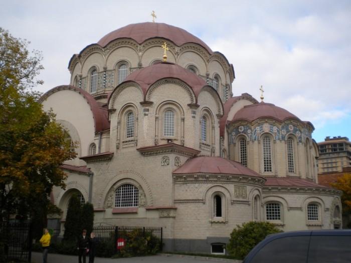 Казанский собор Новодевичьего монастыря