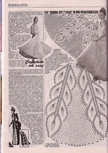 Дуплет журнал по вязанию юбки