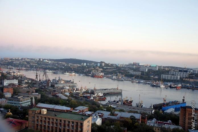 Владивосток с самой высокой сопки