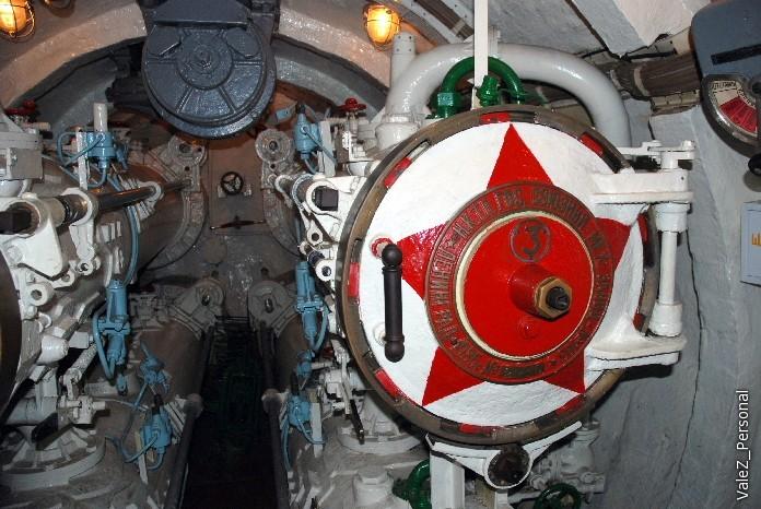 Торпедный отсек подводной лодки