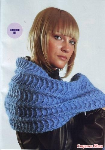 Вязаный шарф, шапка, снуд.  Вязание на заказ.  ВКонтакте.