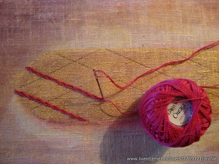Мк вышивка лентами гладиолусы в вазе