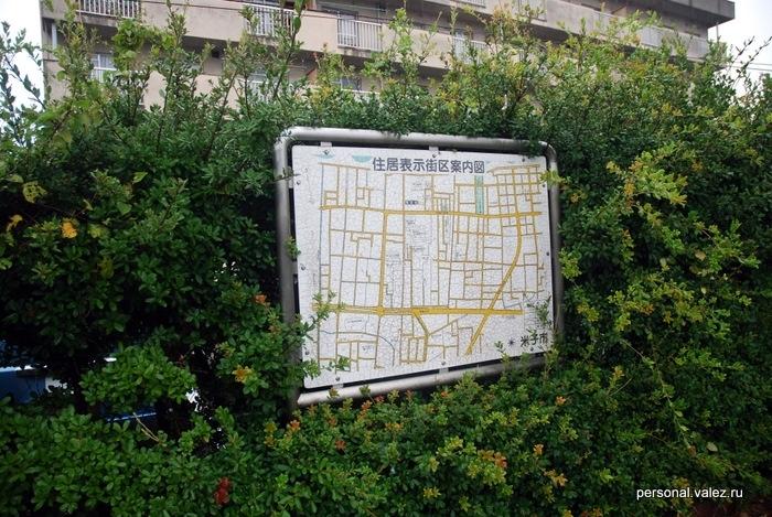 Карта квартала, а может и всего городка