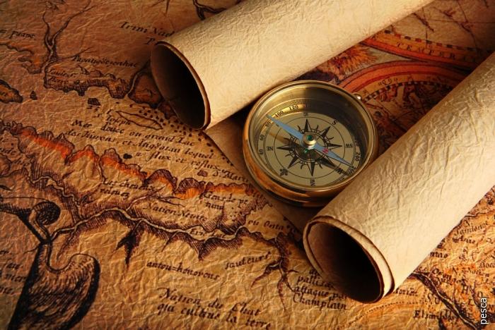 Старинные карты мира.