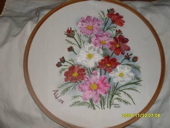 Art Embroidery Picture Make Handmade Crochet Craft