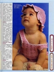 Ажурные детские шапочки крючком