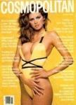 фотография Джии в желтом купальнике в греческом стиле, была признана лучшей всех времен в индустрии моды