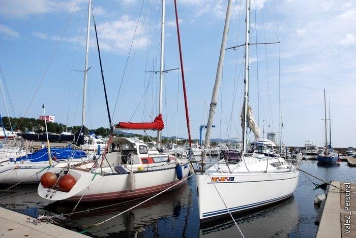 Двадцатерым участникам выдали 4 яхты