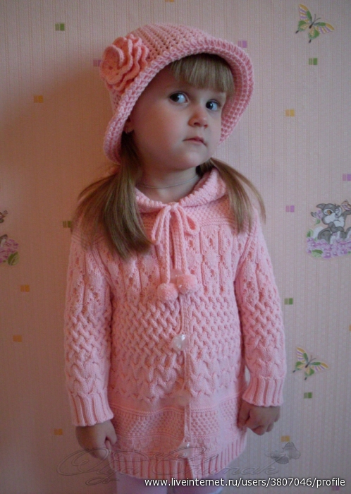 Вязание Детского Пальто