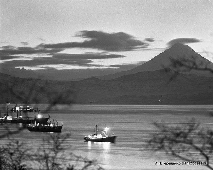 На рейде Авачинской бухты