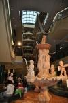 фонтан в галерее рига