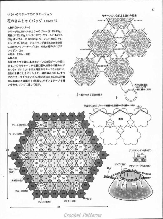 crochet magazine: crochet motif