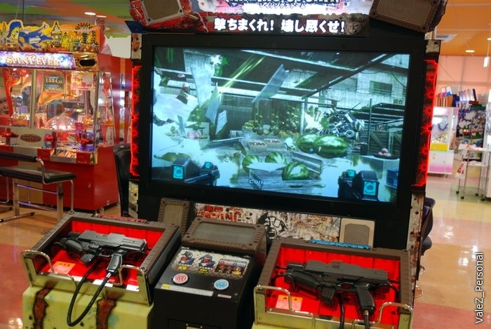 А теперь я в зале игровых автоматов