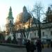 Это катедра -грекокатолический костел.Центральный храм города.В нашей местности люди грекокатолической веры.